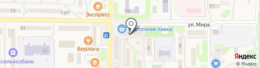 Ticket Shop на карте Вилючинска