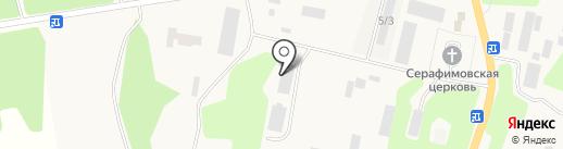 Вилючинская верфь на карте Вилючинска