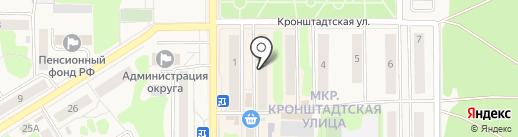 Знание на карте Вилючинска