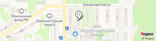 Палитра на карте Вилючинска