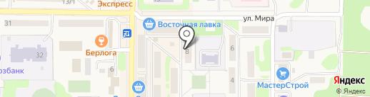 Терра на карте Вилючинска