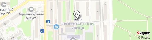 Шарм на карте Вилючинска