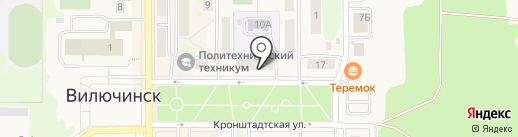 Koval`Ski на карте Вилючинска