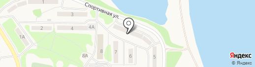 Микижа Камчатки на карте Вилючинска