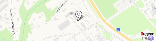 Азимут на карте Елизово