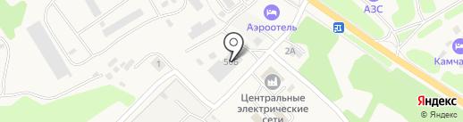Гвоздь на карте Елизово