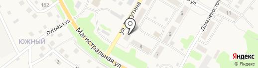 Славянка на карте Елизово