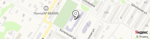 Средняя общеобразовательная школа №9 на карте Елизово