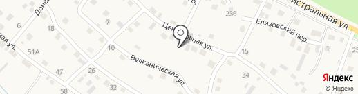 Радуга на карте Елизово
