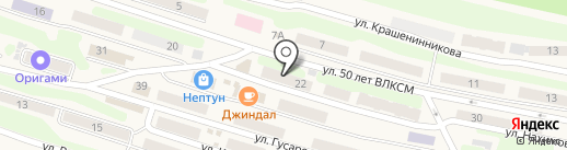Сбербанк России на карте Вилючинска
