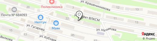 Фотон на карте Вилючинска