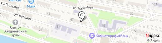 СКТВ на карте Вилючинска
