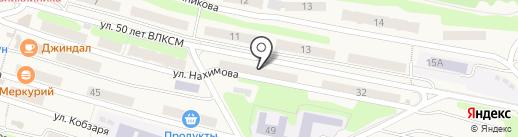 Банкомат, АКБ Росбанк на карте Вилючинска