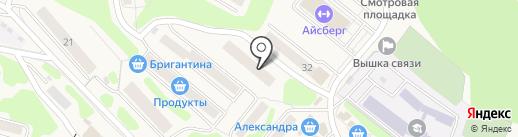 Библиотека на карте Вилючинска