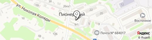 Банкомат, Россельхозбанк на карте Пионерского