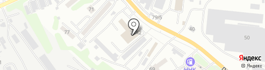 СТ Николас на карте Петропавловска-Камчатского