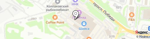 Вкусная помощь на карте Петропавловска-Камчатского