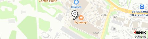 Горящие путевки на карте Петропавловска-Камчатского