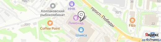 Банкомат, АКБ Росбанк на карте Петропавловска-Камчатского