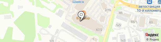 Моё солнышко на карте Петропавловска-Камчатского