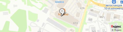 VIVA на карте Петропавловска-Камчатского