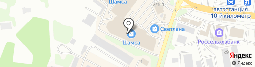 Fashion City на карте Петропавловска-Камчатского
