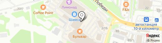 Банкомат, Солид банк на карте Петропавловска-Камчатского