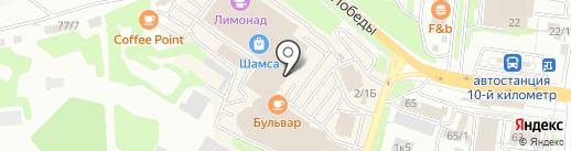 Русский двор на карте Петропавловска-Камчатского