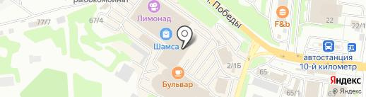 Театральная касса на карте Петропавловска-Камчатского