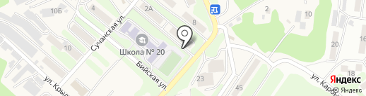 Асгард на карте Петропавловска-Камчатского