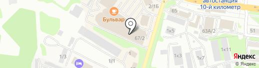 Контур Будущего на карте Петропавловска-Камчатского
