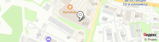 Orby на карте Петропавловска-Камчатского