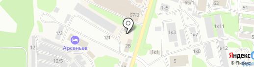 Камчатский технический центр диагностики инженерных сооружений на карте Петропавловска-Камчатского