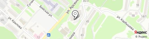 Информационно-технологический центр Камчатского края, КГАУ на карте Петропавловска-Камчатского
