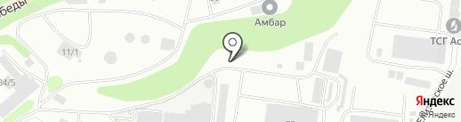 КамчатАсфальт на карте Петропавловска-Камчатского