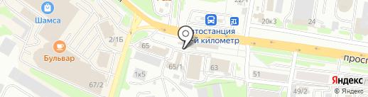 ПАРНИ на карте Петропавловска-Камчатского