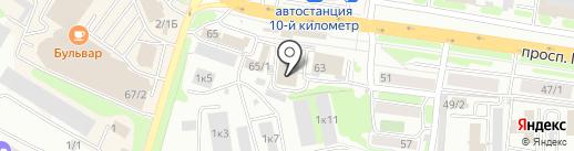 Мир обоев на карте Петропавловска-Камчатского
