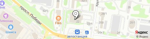 Алладин на карте Петропавловска-Камчатского