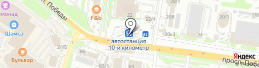 Управление пассажирского транспорта, МАУ на карте Петропавловска-Камчатского