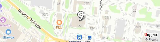 МегаФон на карте Петропавловска-Камчатского