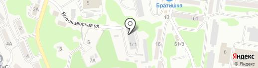 Моховской Союз потребительских обществ на карте Петропавловска-Камчатского