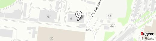 КАМЧАТСКСТРОЙ на карте Петропавловска-Камчатского