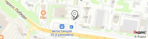 Магазин хозтоваров на карте Петропавловска-Камчатского