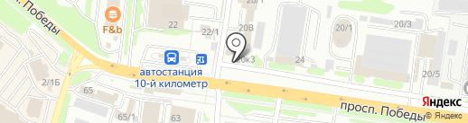 ИМОС на карте Петропавловска-Камчатского