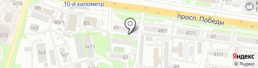 Расчетно-кассовый центр, МАУ на карте Петропавловска-Камчатского