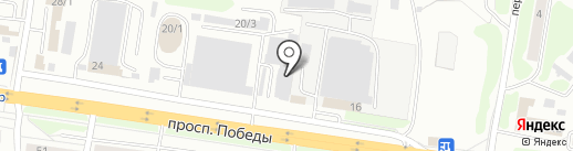 Новострой на карте Петропавловска-Камчатского