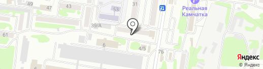 Тадоликс на карте Петропавловска-Камчатского