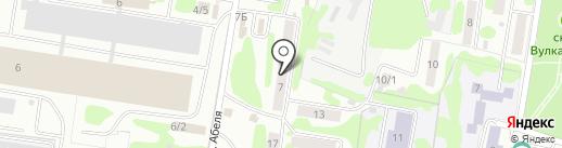 Адвокатский кабинет Ближниковой А.Б. на карте Петропавловска-Камчатского