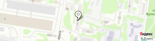 МДС строй на карте Петропавловска-Камчатского