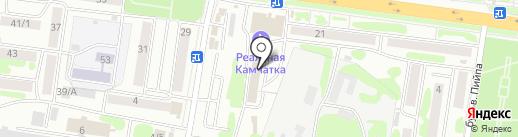 Стоматолог на карте Петропавловска-Камчатского
